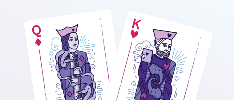 Kings and queens for the Heroku cards