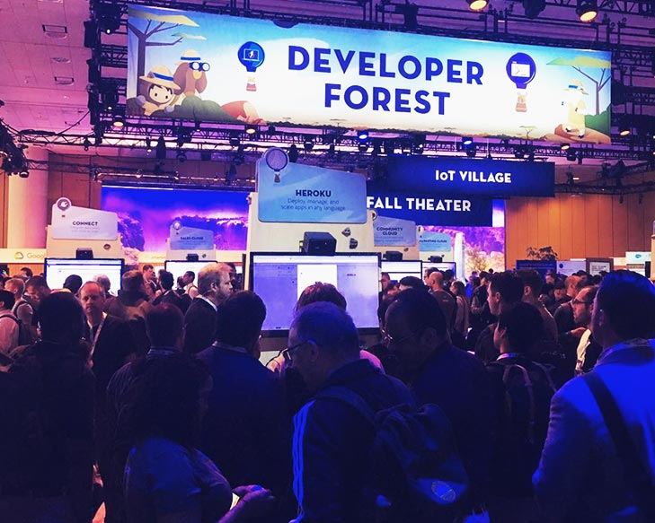 Heroku at Dreamforce.