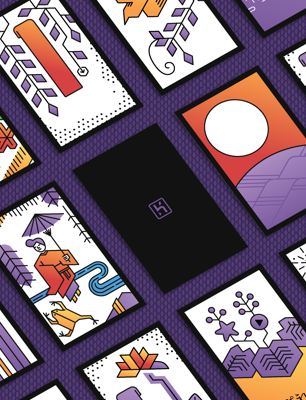 Heroku Hanafuda wallpaper