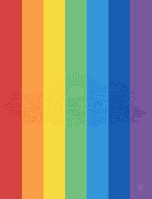 Heroku Happy Pride wallpaper