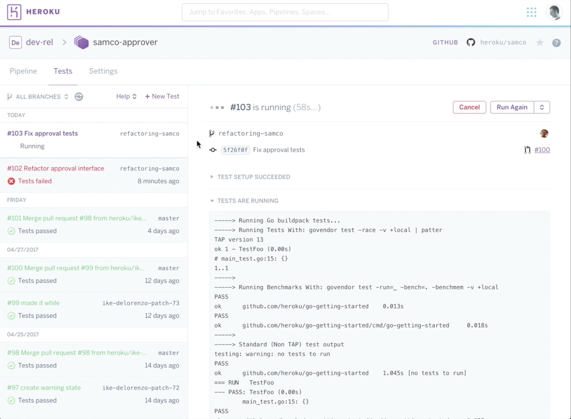 Continuous Integration on Heroku | Heroku CI | Heroku